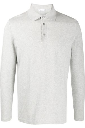 Filippa K Hombre Polos - Luke long-sleeved polo shirt