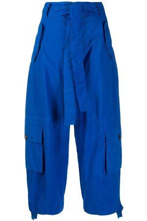 Colville Mujer Capri o pesqueros - Pantalones capri con lazo en la cintura