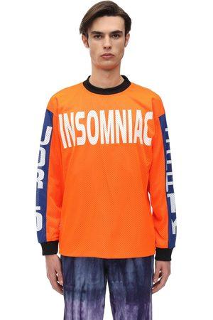 INSOMNIAC Camiseta De Algodón Jersey Con Mangas Largas