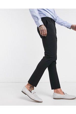 ASOS Super skinny smart trousers in black