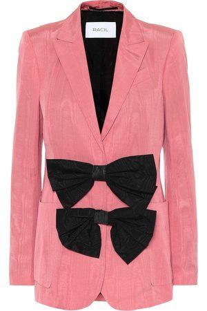 RACIL Henry cotton-blend moire blazer