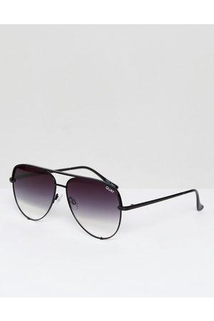 Quay Australia High Key sunglasses in black fade