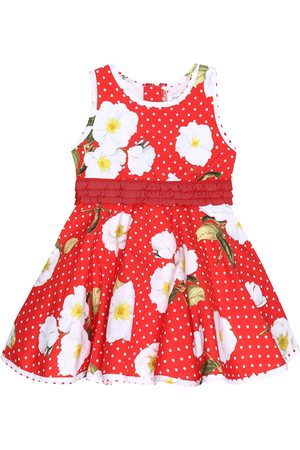 MONNALISA Baby printed cotton dress