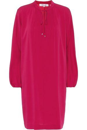 Diane von Furstenberg Jessica stretch-silk minidress