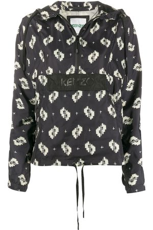 Kenzo Hooded front pocket cagoule