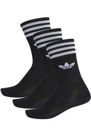 Adidas Originals Solid Crew Socks EU 27-30 black / white