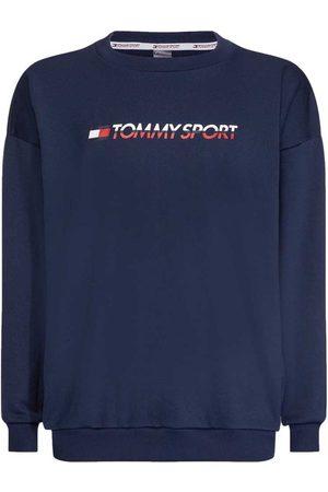 TOMMY HILFIGER SPORTSWEAR Knit Crew Sweat Logo Tape