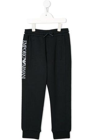 Emporio Armani Pants con logo bordado