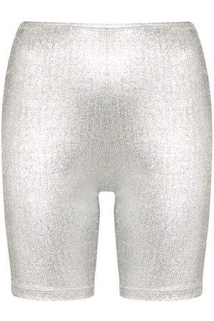 Paco rabanne Shorts de ciclismo con logo