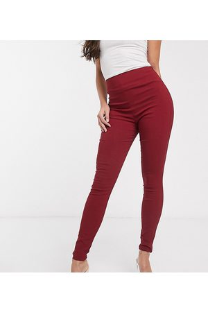 ASOS ASOS DESIGN Tall high waist trousers in skinny fit