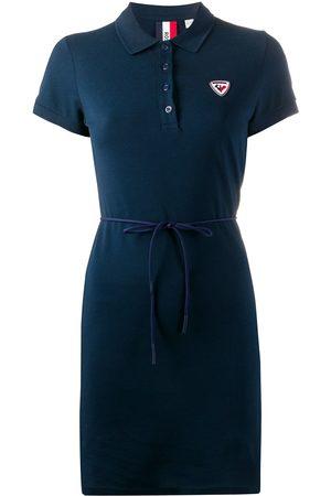 Rossignol Vestido con diseño de playera tipo polo