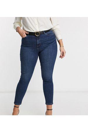 Vero Moda Skinny jean in mid blue