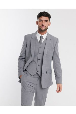 ASOS DESIGN Slim suit jacket in mid grey