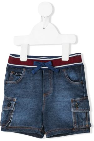 Dolce & Gabbana Elasticated waist denim shorts