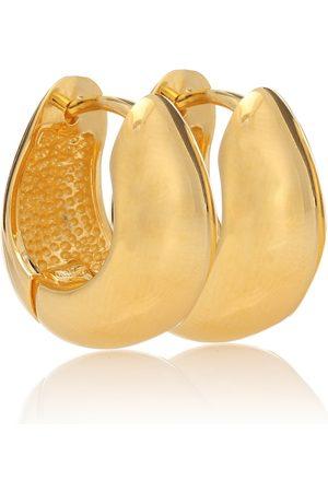 Sophie Buhai Hinged Hoops 18kt gold-plated earrings