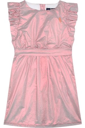 The Animals Observatory Shiny Weasel coated cotton dress