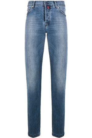Kiton Jeans rectos con tiro bajo