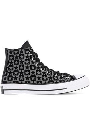 "Converse Sneakers Altas ""chuck 70"" De Lona Flocada"