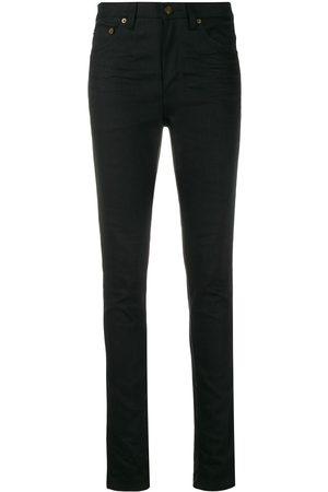 Saint Laurent Skinny jeans con tiro medio