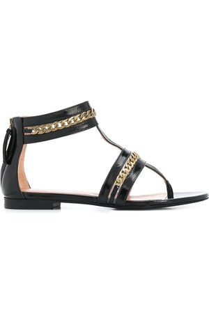 Twin-Set Chain-embellished thong sandals
