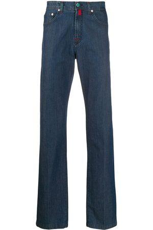 Kiton Jeans rectos con tiro medio