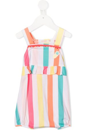 Billieblush Striped dungarees