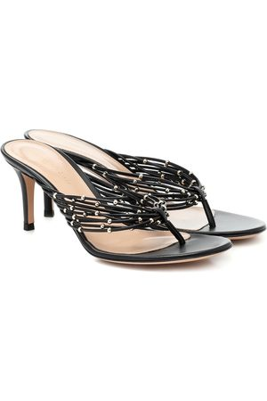 Gianvito Rossi Luxor leather sandals
