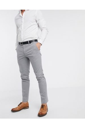 River Island Skinny suit trousers in grey