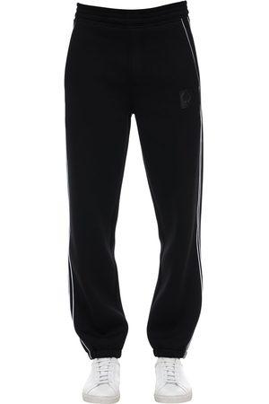 Neil Barrett Pantalones Deportivos De Jersey De Viscosa