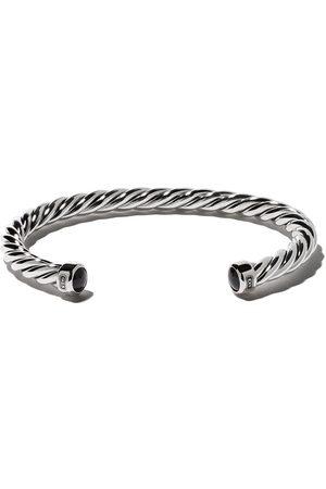 David Yurman Hombre Pulseras - Cable onyx cuff