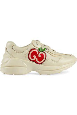 Gucci Niña Tenis - Tenis Rython con estampado GG de manzana