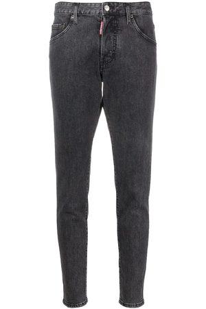 Dsquared2 Skinny jeans con tiro alto