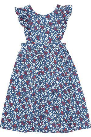 BONPOINT Empire printed cotton dress