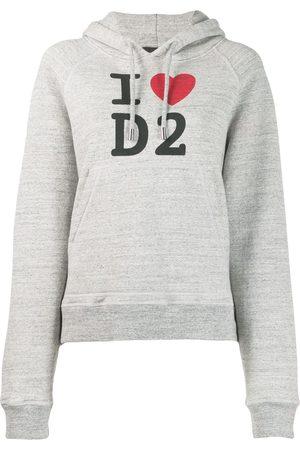 Dsquared2 Sudadera tejida con capucha y logo