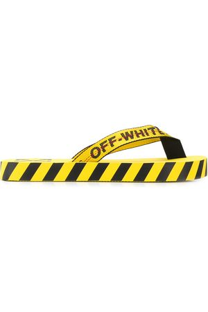 OFF-WHITE Hombre Flip flops - Flip flops con logo estampado