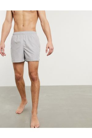 Nike 5inch Volley shorts in light grey