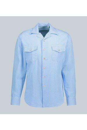 THE GIGI Araki cotton seersucker shirt