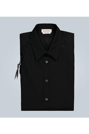 Alexander McQueen Cotton harness shirt