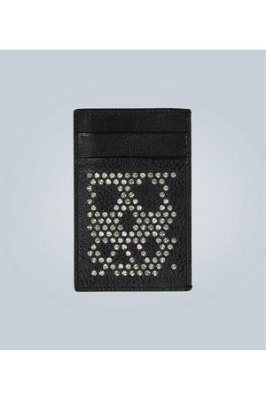 Alexander McQueen Studded Skull cardholder