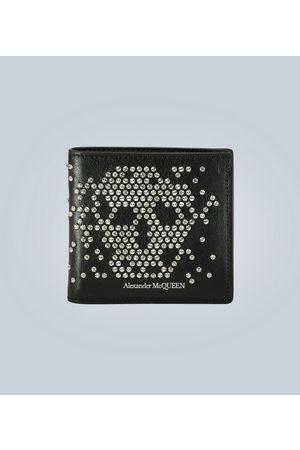 Alexander McQueen Studded leather wallet