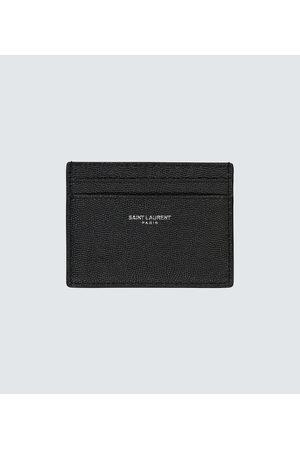 Saint Laurent Leather card holder