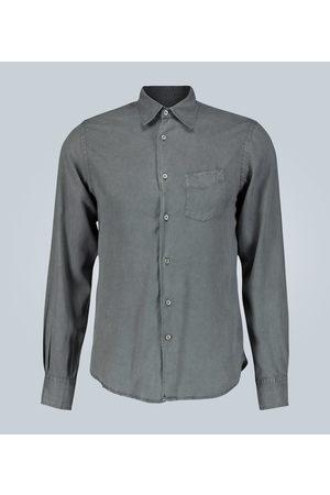 OFFICINE GENERALE Benoit regular-fit washed twill shirt