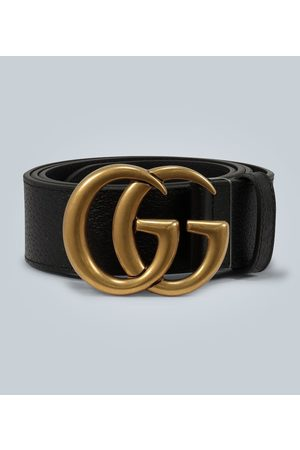 Gucci Leather belt with Double G buckle