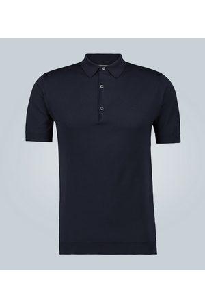 JOHN SMEDLEY Adrian Sea Island cotton polo shirt