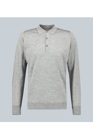 JOHN SMEDLEY Cotswold long-sleeved polo shirt