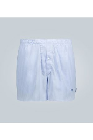 Etro Striped swim shorts