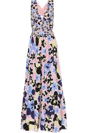 ALEXANDRA MIRO Mimi floral cotton maxi dress