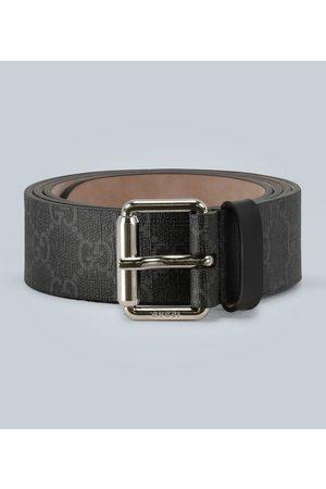 Gucci GG belt with Kingsnake print