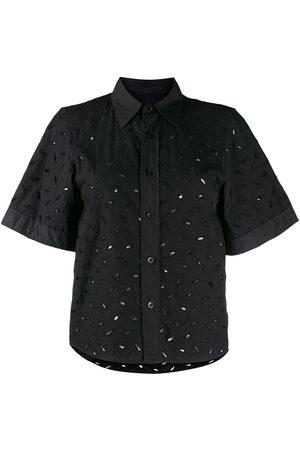 Ami Camisa manga corta bordada