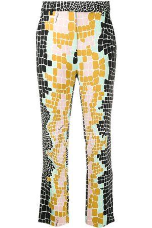 Roberto Cavalli Mujer De vestir - Pantalones de vestir con diseño colour block